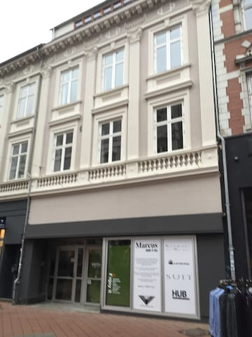 Cityapartment in the pedestrianzone - Kolding - Appartement