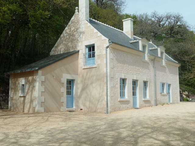 Charmante maison, calme et en pleine nature - Cravant-les-Côteaux - Casa de férias