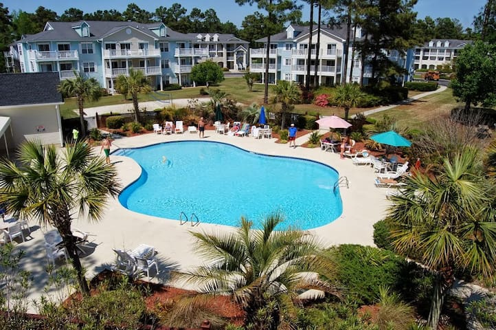 Golf & Lagoon Views! Brunswick Plantation Condo! - Calabash - Condo