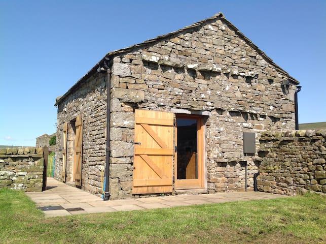 The Barn has fantastic views of Wensleydale. - Askrigg