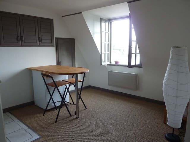 Studio meublé avec vue imprenable proche d'Angers - Grez-Neuville - Appartement