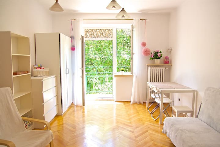 Pink room in Cracow - Cracóvia