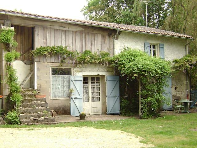 Ancien moulin  dans un cadre exceptionnel - Niort - Huis