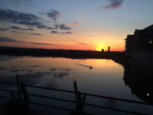 Luxury Waterfront Apartment&Terrace - Liverpool - Daire