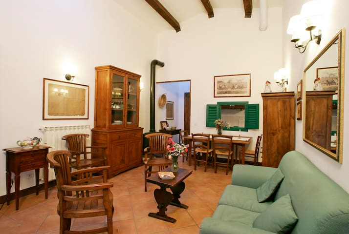 Holiday in Tuscany - Riding, biking, relax - Grotte di Castro - Daire
