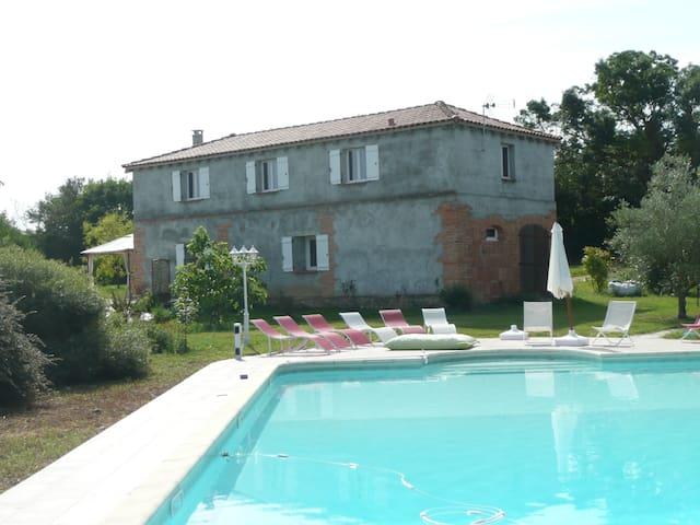Domaine de Bellerose, gîte rural - Lombez - Casa