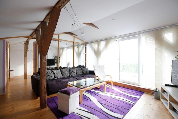 Schönes Appartement Dachgeschoss - Rostock