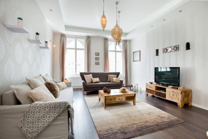 Luxury 3-bedroom apt on Kálvin tér - Budapest - Lägenhet