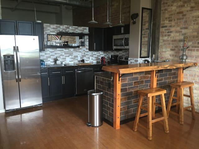 Private apartment downtown Milwaukee - Milwaukee - Selveierleilighet