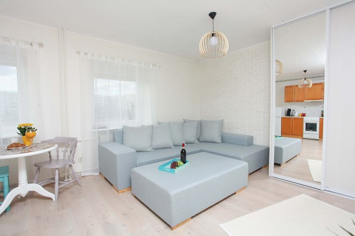 Cozy seaside studio apartment - Pärnu - Departamento