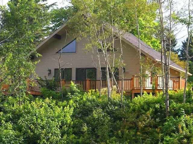 Villa Covered Bridge 10 minutes National Park - Saint-Mathieu-du-Parc - Chalet