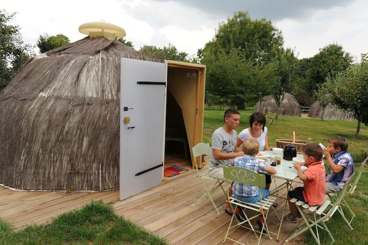 Le camp des marmottes - Poitou-Charentes - Hut
