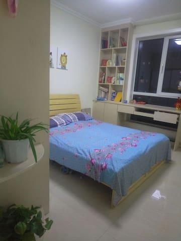 简洁明亮的二居室 - Tai'an - Apartament