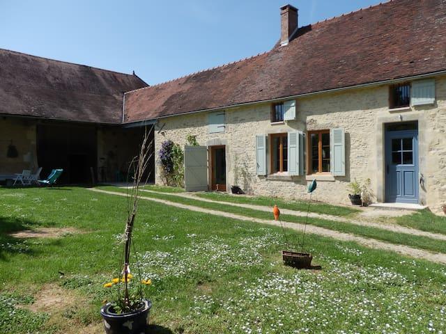 ancienne ferme en pierre restaurée - Cussangy - Talo