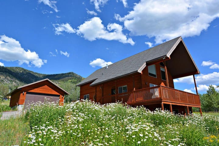 Amazing Family Cabin Overlooking Star Valley! - Star Valley Ranch - Hus