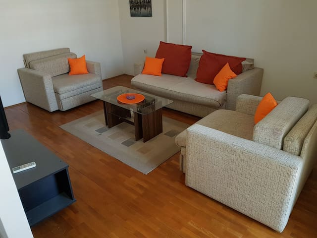 Great 1BD apartment in city center - Niš - Appartement