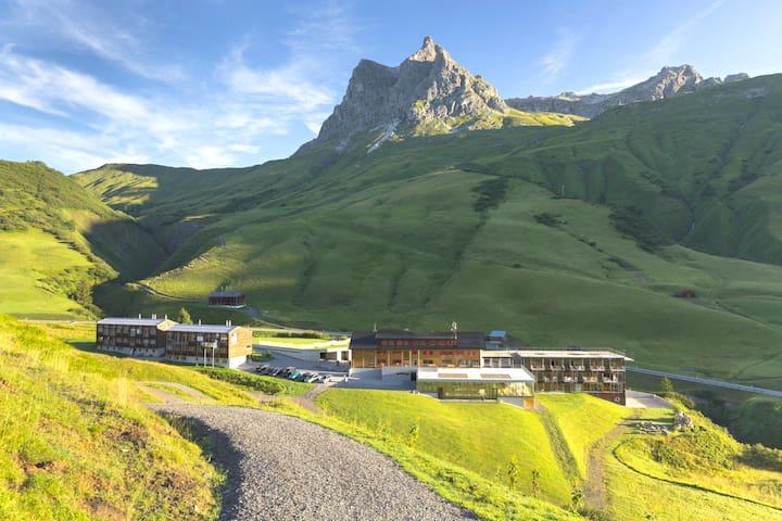 Appartement in ruhiger Lage am Arlberg - Warth am Arlberg - Кондоминиум