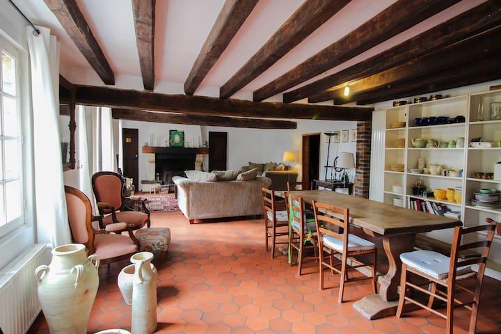 Longère Fin 18ième siècles - Fontenouilles - Huis