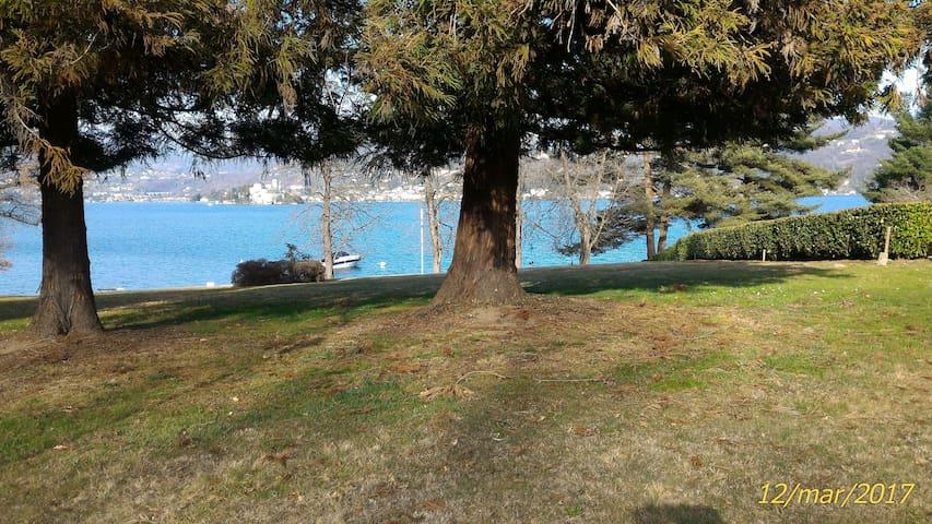 Alloggio immerso nel verde, a due passi dal Lago - San Maurizio D'opaglio - Apartamento