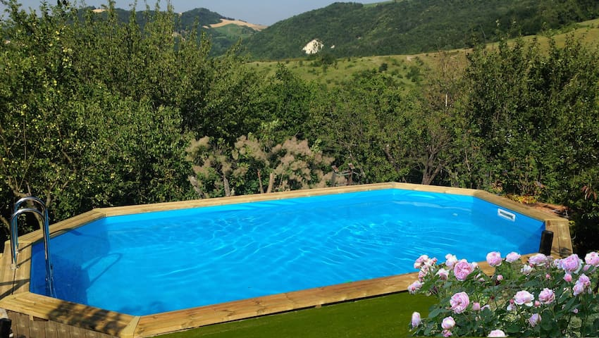 Incantevole casa in collina Oltrepò - Godiasco - Huis