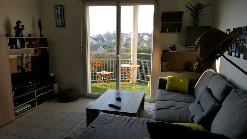 Bel appartement lumineux très calme - Sablé-sur-Sarthe