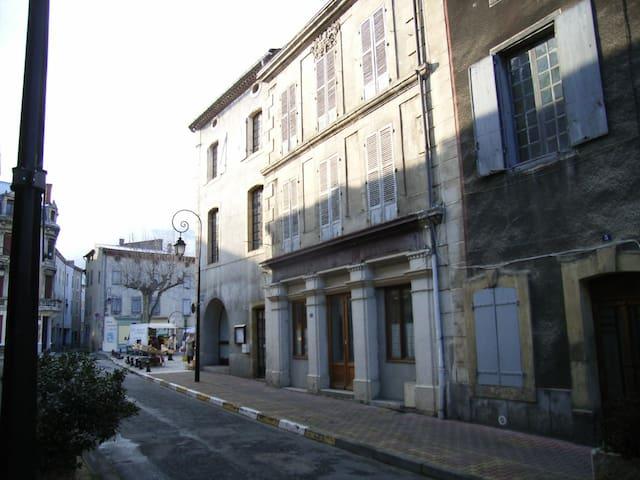 Spacious French merchant house in Quillan - Quillan - Casa