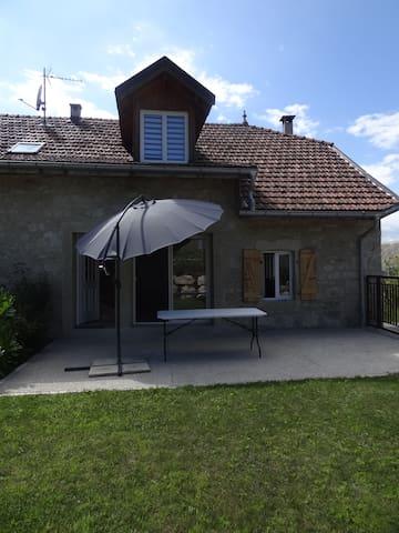 Belle maison de charme à la campagne-30mn Annecy - Frangy - Rumah