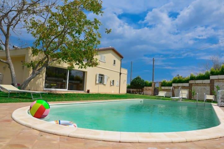 Depandance con Piscina in Villa vista mare-Etna - Piedimonte etneo - Villa