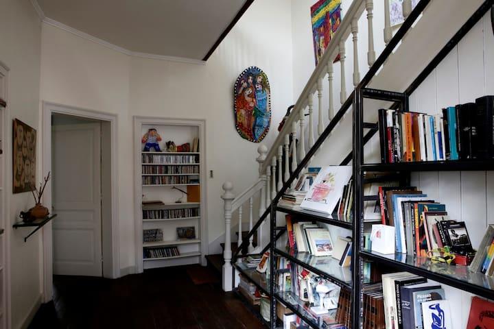 Chambre privative dans maison centre ville. - Limoges - Hus