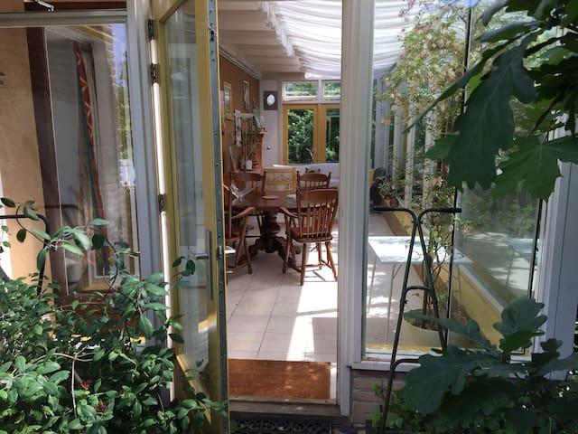 Huis met tuin op 700 meter afstand van zee - Noordwijk - Hus