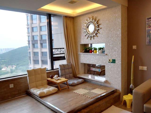 温泉酒店标准间----温馨小窝,我的私家小屋 - Zhenjiang Shi - Apartmen perkhidmatan