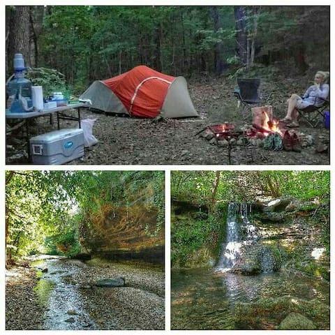 Private Primitive Camping - Eureka Springs