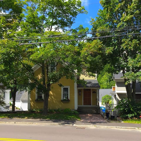 Little Yellow House in the Village - Stowe - Appartement