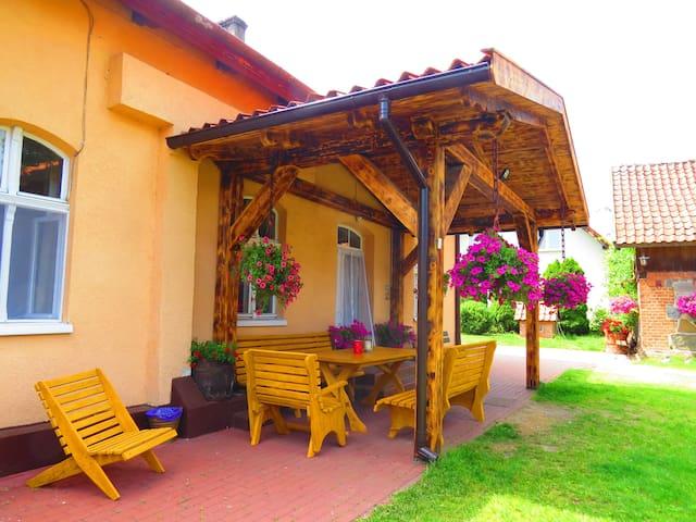 Quiet and relaxing house in Mazury - Osiniak-Piotrowo - Huis