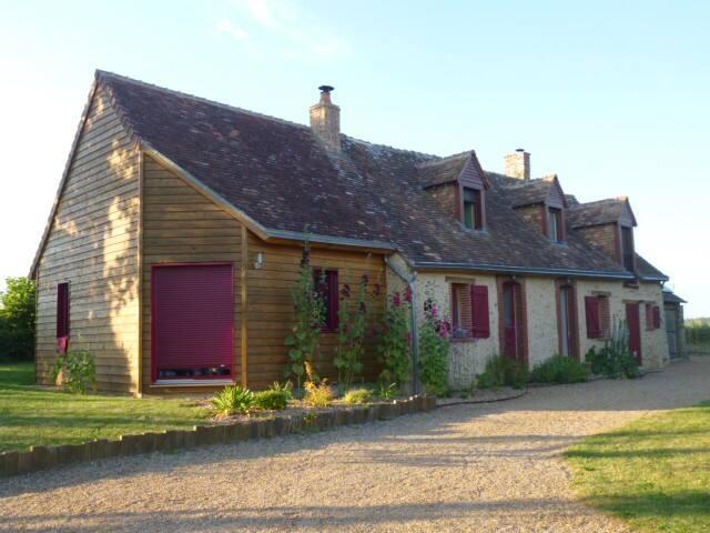 Belle maison de caractère à 15 min du Mans - Souligné-Flacé - Casa