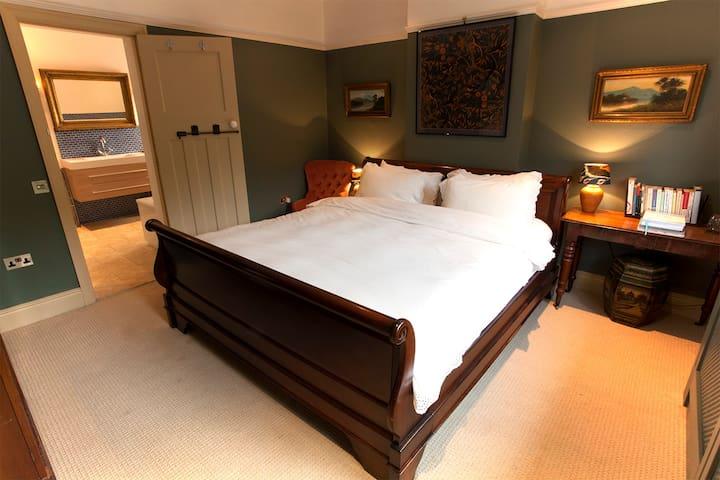 Gorgeous DBL + bunk in heart of lovely Mells - Mells - Ev