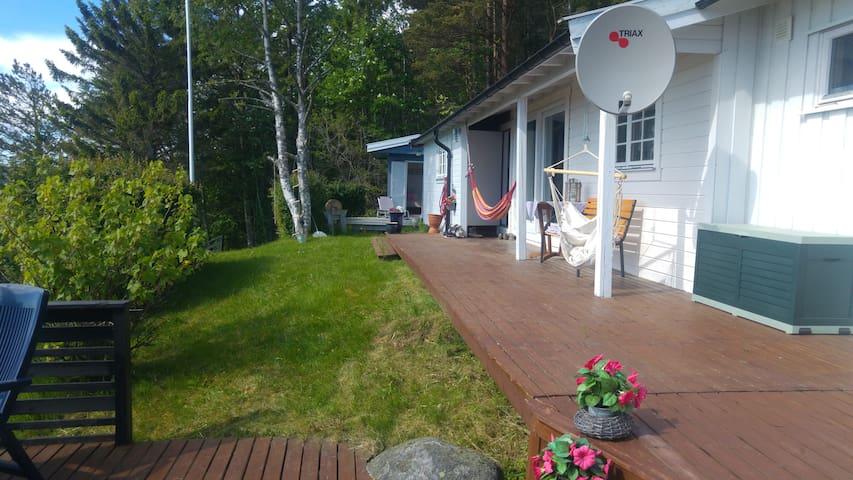 Fiskvik - Skatval - Skatval - Houten huisje