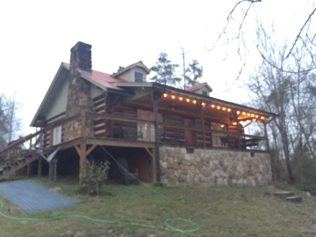 Cozy Log Home on Lewis Smith Lake - Crane Hill - Maison