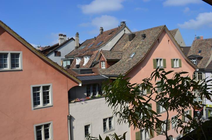 """""""BnB Adlerhorst"""" romantisch, zentral  in Altstadt - Winterthur - Bed & Breakfast"""