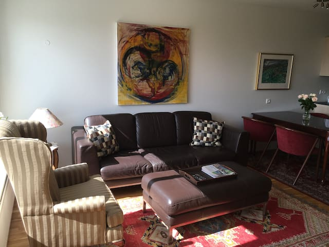 Scenic apartment with two bedrooms - Borgarnes