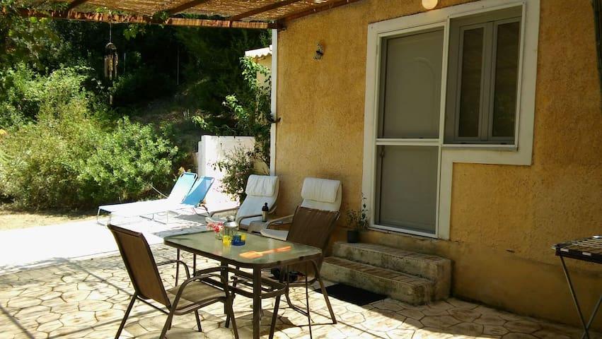 Stavros studio in nature ! Very quit ! - Corfu - Ev