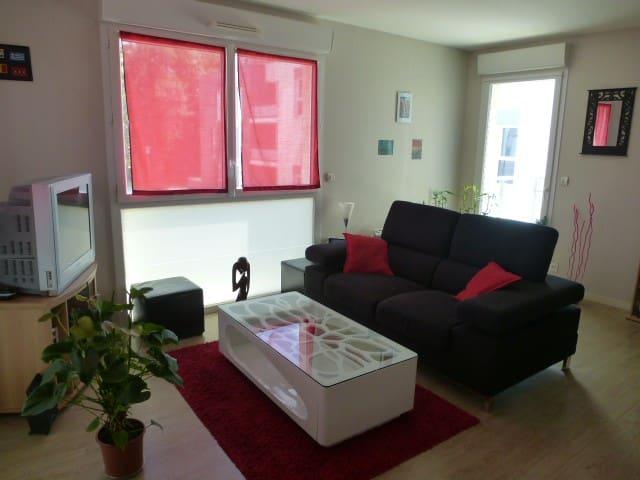 Chambre particulière dans appartement tout équipé - Trélazé - Lägenhet
