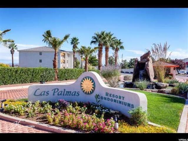 3 Bedroom Condo in Las Palmas, pool spa sleeps 6+! - St. George - Departamento