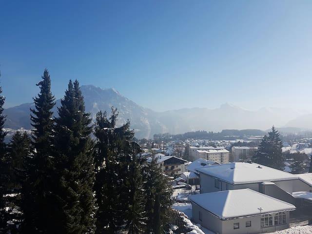 Gemütliche Wohnung mit Ausblick in Altmünster - Altmünster am Traunsee - Leilighet