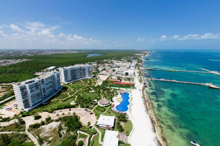 Amazing Beach Front Apartment, Cancun, CondoHotel - Cancún - Leilighet