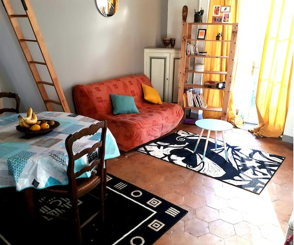A CHARMING FLAT STUDIO CLOSE TO ETAMPES DOWN TOWN - Étampes - Daire