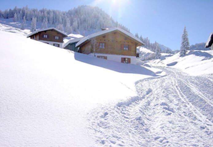 Alpenchalet Garfrescha - Sankt Gallenkirch - Maison