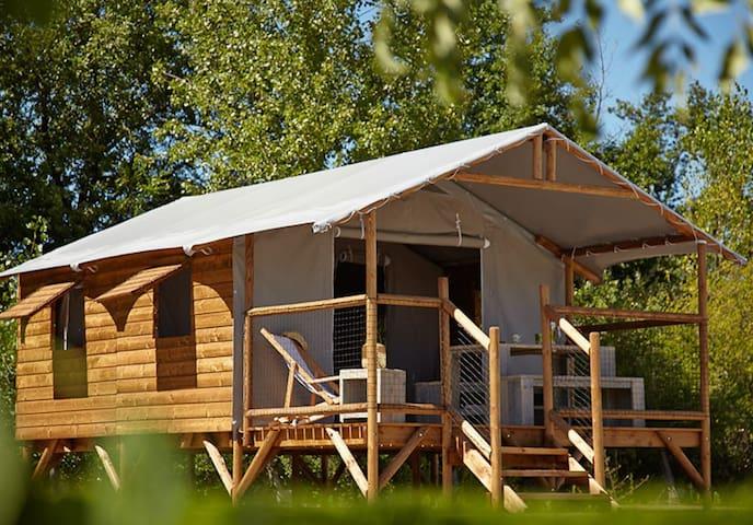 Cabane Lodge - Le Temple-sur-Lot - Stuga