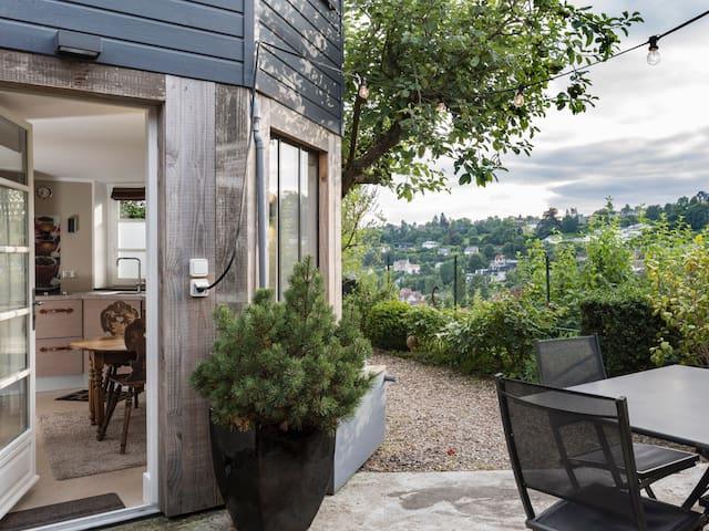 Superbe Studio DÉCO terrasse vue - Mont-Saint-Aignan - Lägenhet