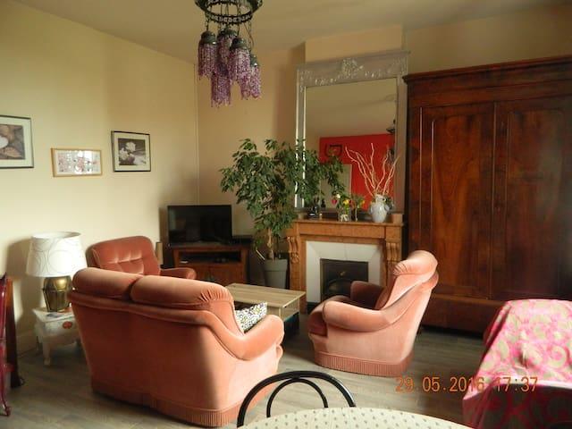 Appartement avec  grand jardin  très calme - Andrézieux-Bouthéon - Leilighet